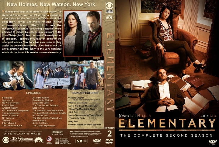 Reseñas: Elementary (Temporada 2) por Kassfinol