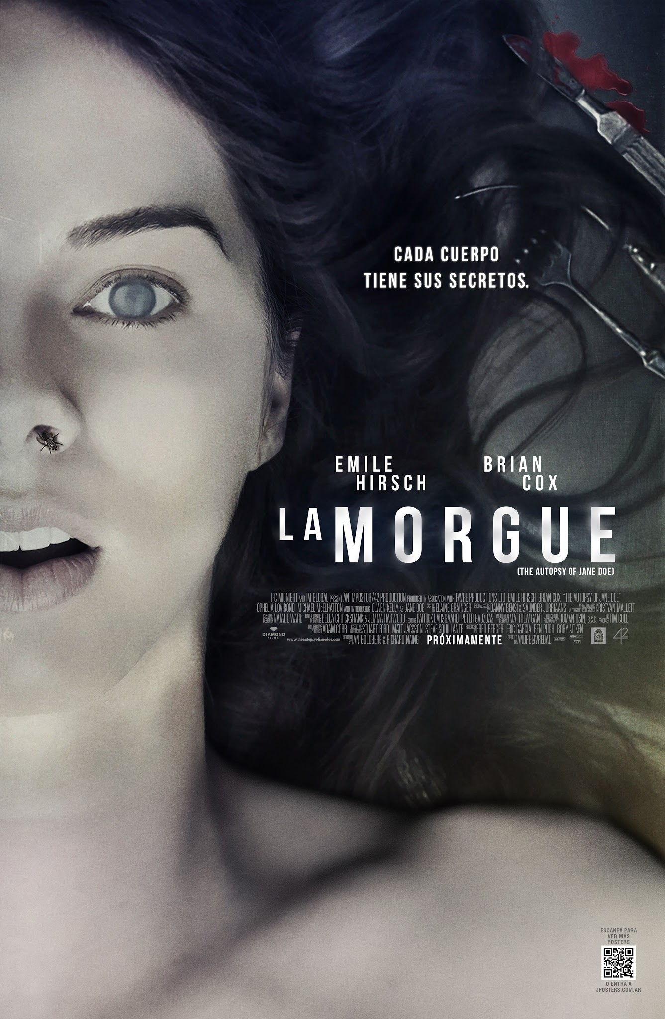 Reseñas: The Autopsy of Jane Doe - La Morgue por Kassfinol